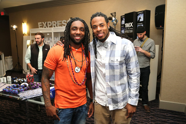 Branton Sherman & Richard Sherman at Express 1MX Shirt Shop