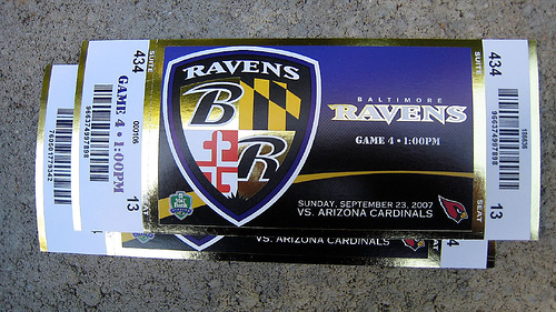 Ravens Announce They Will Raise Ticket Prices Nfl