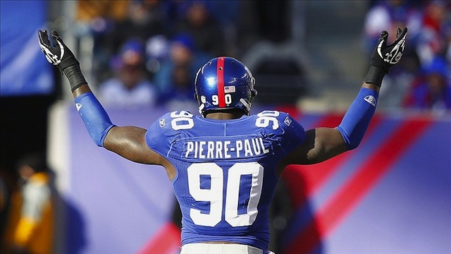 Giants DE Pierre-Paul Undergoing Back Surgery