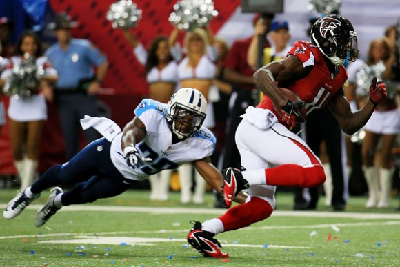 Falcons Agree on Five-Year Deal with Wide Out Julio Jones