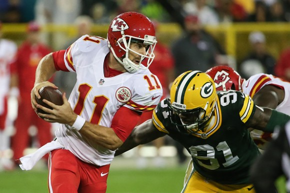 Alex Smith Could Be Holding Back the Chiefs