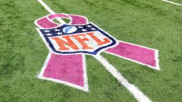 """4f26784d6ce NFL to Do Away with Just Pink in October; Begin """"A Crucial Catch,"""" and Will  Allow Teams to Choose Charity to Support"""