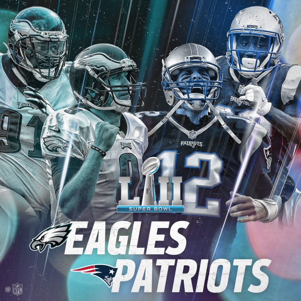 Super Bowl Lii Is Set New England Patriots And